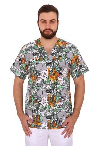 Costum medical Jungle unisex