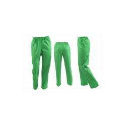 Pantaloni unisex vernil cu elastic si doua buzunare laterale