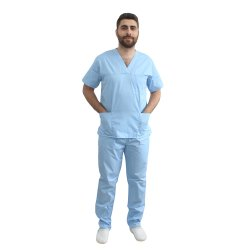 Costum medical barbati bleo unisex